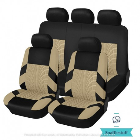 Universal 9 piece 5 seat car seat covers v2